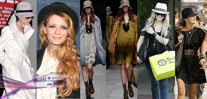 Chapéus na moda
