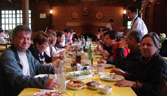 almoço de encerramento de aniversário 2
