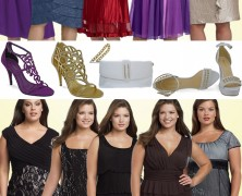 vestidos de festa curtos – para grandes mulheres