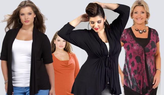 blusas e sobreposições