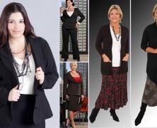 moda XXL – como se vestir corretamente quando se está acima do peso