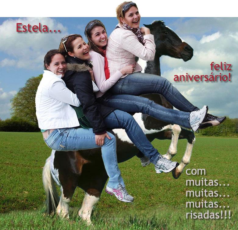 Feliz Aniversário Estela!!!