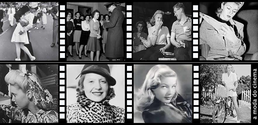 1930 a 1945 moda influenciada pelo cinema