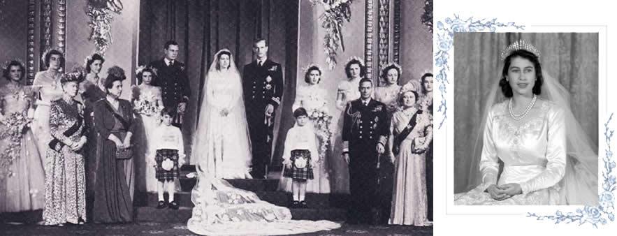 Casamento da Rainha da Inglaterra -  Elizabeth e Philip 2