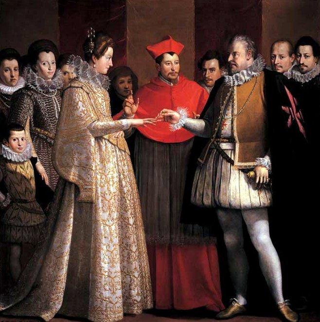 Jacopo-Chimenti- maria de médici