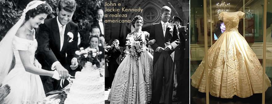 John e Jackie Kennedy - realeza americana