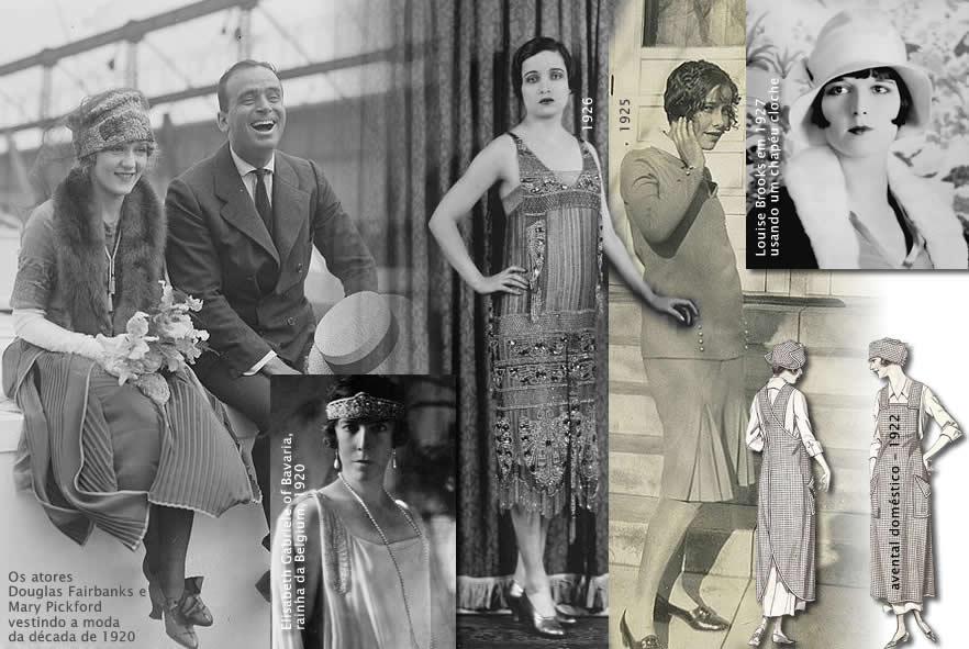estilo de moda de 1920-1930