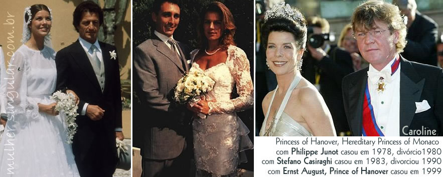 Caroline Hereditary Princess of Monaco - Philippe Junot - Stefano Casiraghi - Ernst August