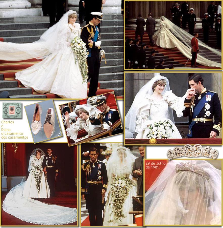 Casamento Princesa Diana & Charles - Inglaterra