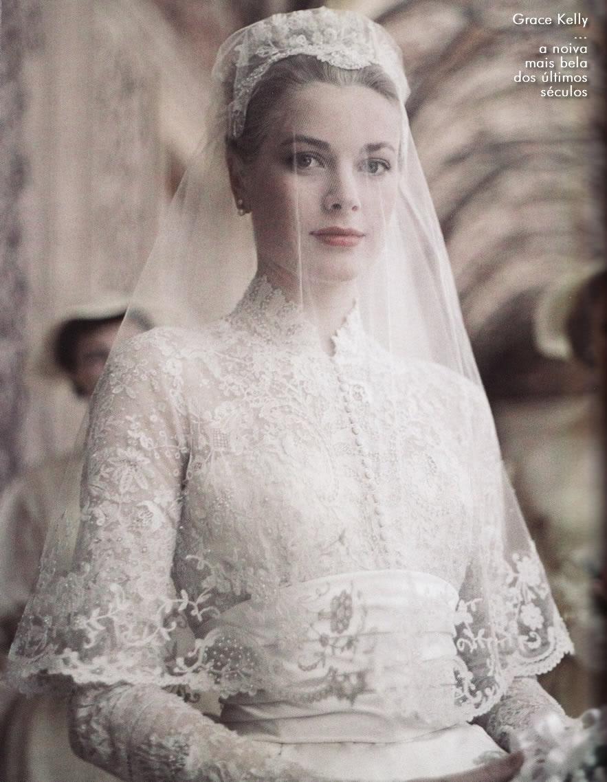 Grace Kely a noiva mais bela dos ultimos séculos