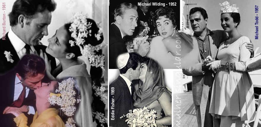 casamentos de Elizabeth Taylor