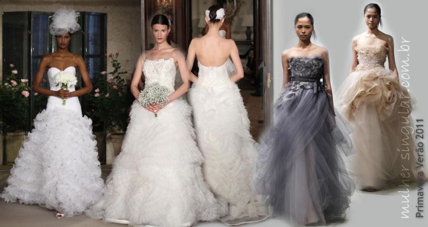 noivas verão 2011 - LANÇADAS EM 2010