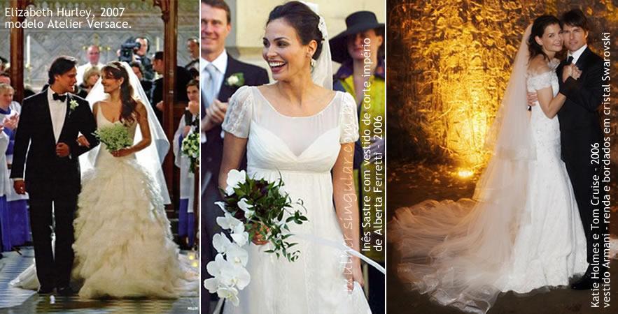 vestidos de casamento 2006 e 2007