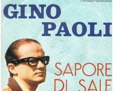 Sapore di sale – Gino Paoli – especial para nosso grupo