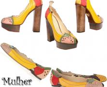 As frutas agora… Vão para os pés!