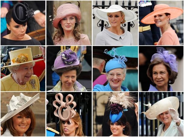 cfcdf4a4b8799 William e Kate Middleton – todos os chapéus das mulheres no ...