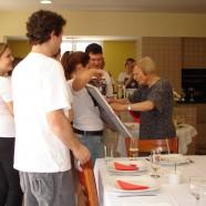 23 de outubro de 2011 – aniversário de 90 anos de Giuséphina Bevil'àcqua Todeschini