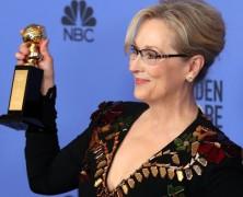Meryl Streep ganhou um prêmio ao longo da vida no Golden Globes