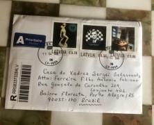selo especial da Letônia