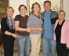 29 de outubro – festa de tios e parentes… Quilombo SC