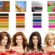 cores de roupas que iluminam as diferentes cores de pele