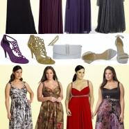 vestidos de festa longos – para grandes mulheres